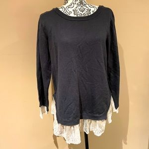 Adorable sweater-shirt 🥰